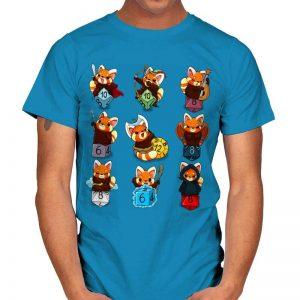 RED PANDA ROLE DICE T-Shirt