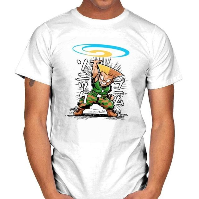 Street Fighter Guile T-Shirt
