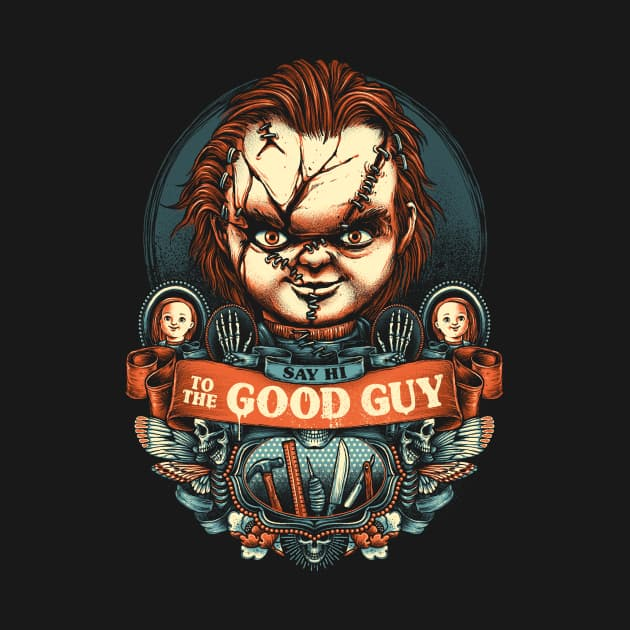 Say Hi to the Good Guy