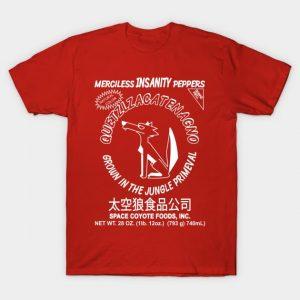 Space Coyote Sriracha T-Shirt