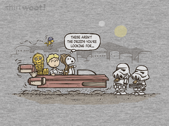These Are Not the Droids