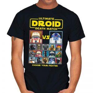 DROID DEATH MATCH Star Wars T-Shirt