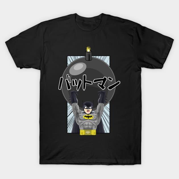 GenkiBoOoOm Batman T-Shirt