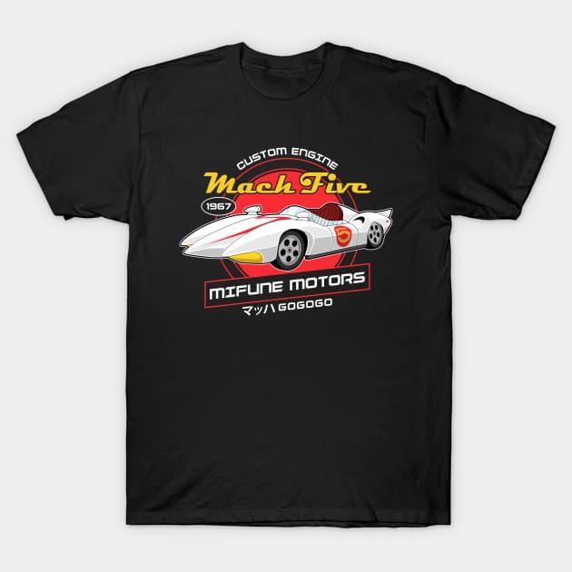 Mach Five - Mifune Motors T-Shirt