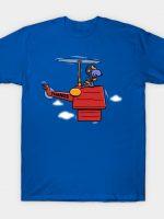 PURPLE BEAGLE COPTER T-Shirt