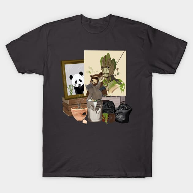 Rockwell Raccoon T-Shirt