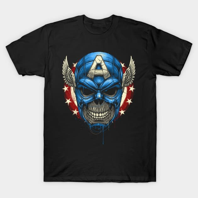 Star Spangled Skull T-Shirt