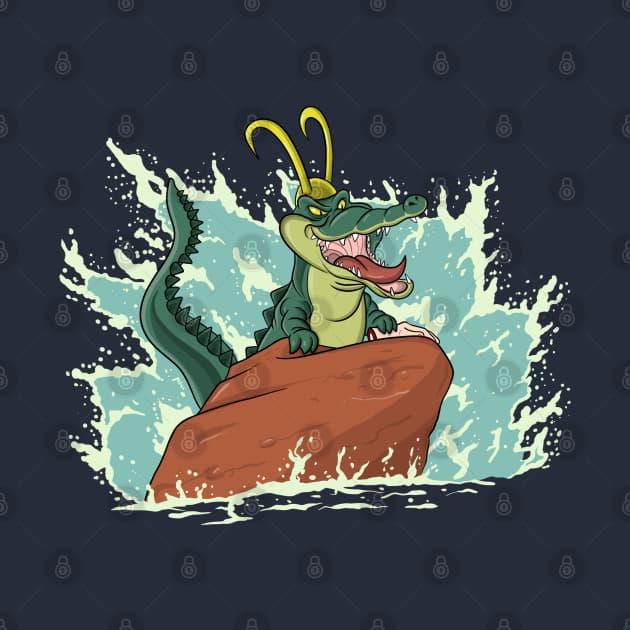 the little alligator
