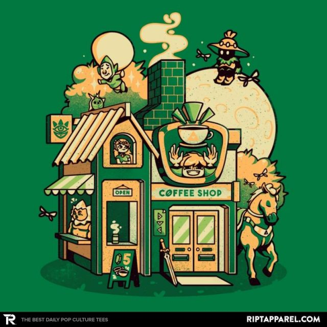 HYRULE COFFEE SHOP