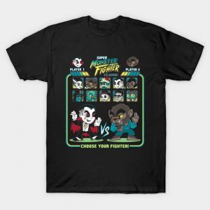 Super Monster Fighter T-Shirt