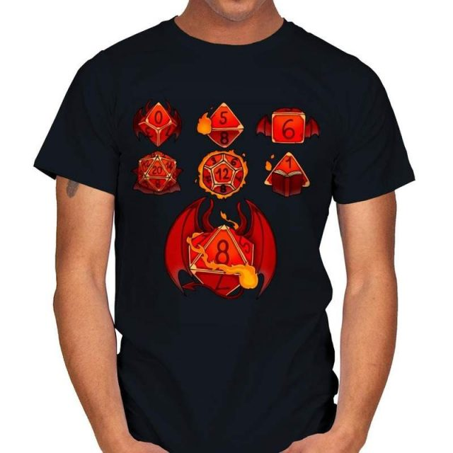 WARLOCK SET DICE T-Shirt
