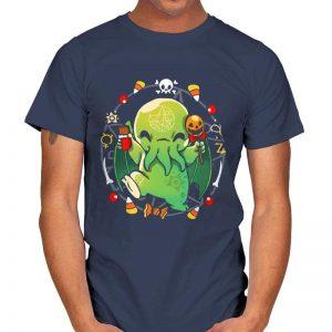 CALL OF HALLOWEEN - CThulhu T-Shirt