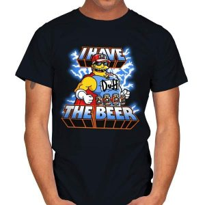 I HAVE THE BEER Simpsons T-Shirt